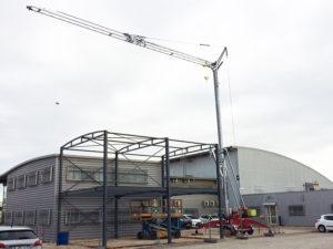 Nouveau chantier avec la Speed Crane