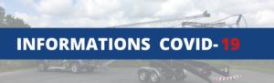 Informations Covid-19: organisation de notre activité